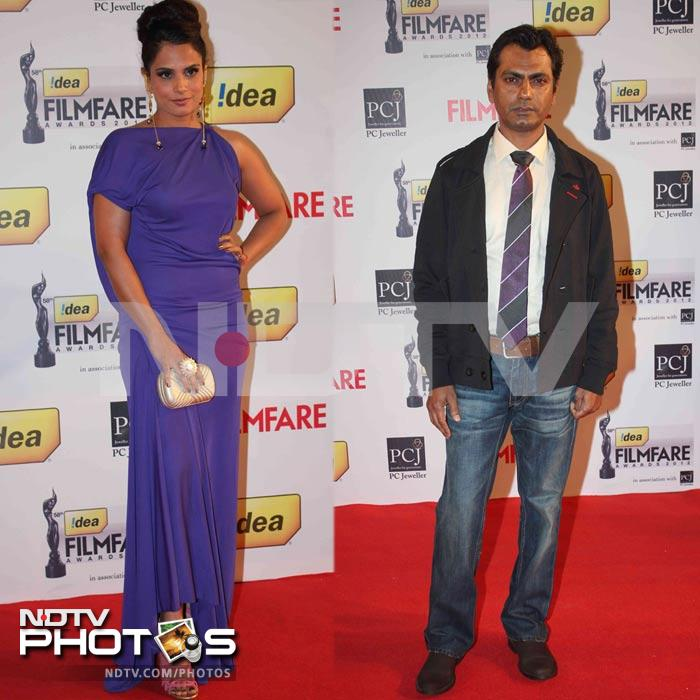Filmfare red carpet: Who wore what