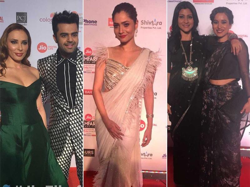 Filmfare Awards: Konkona Sen, Iulia Vantur, Ankita Lokhande Walked The Red Carpet