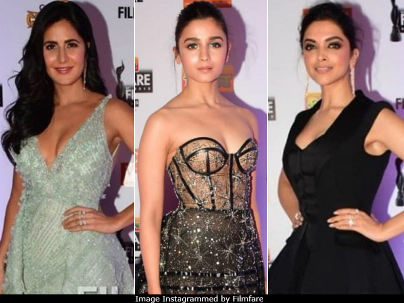 Deepika, Alia, Sonam, Katrina Turn Up Fashion Mode To Max On Filmfare Awards Red Carpet