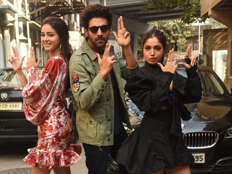 Ananya Panday, Kartik Aaryan And Bhumi Pednekar Are Quirky Trio For Pati Patni Aur Woh