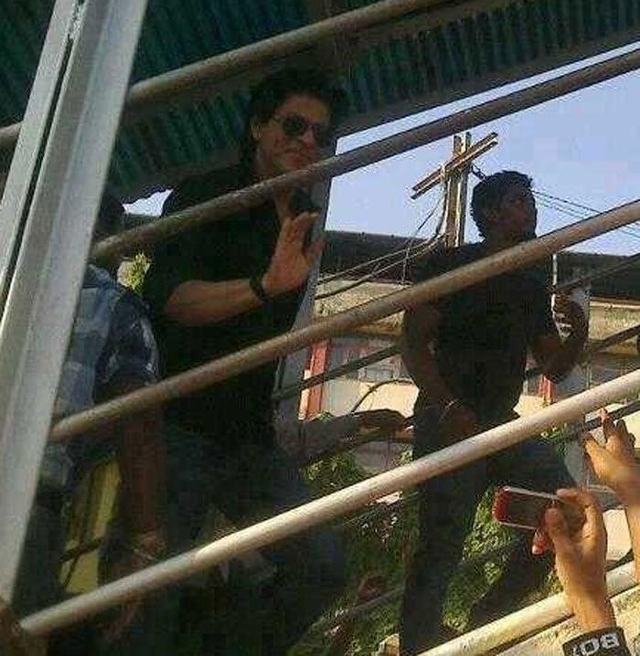 Trainspotting with SRK