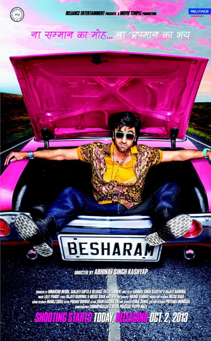 First look at Besharam Ranbir Kapoor