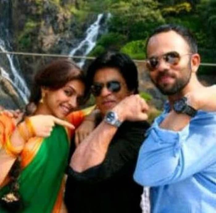 Watch it SRK, Deepika\'s here