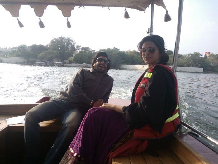 Deepika, Ranveer\'s love boat