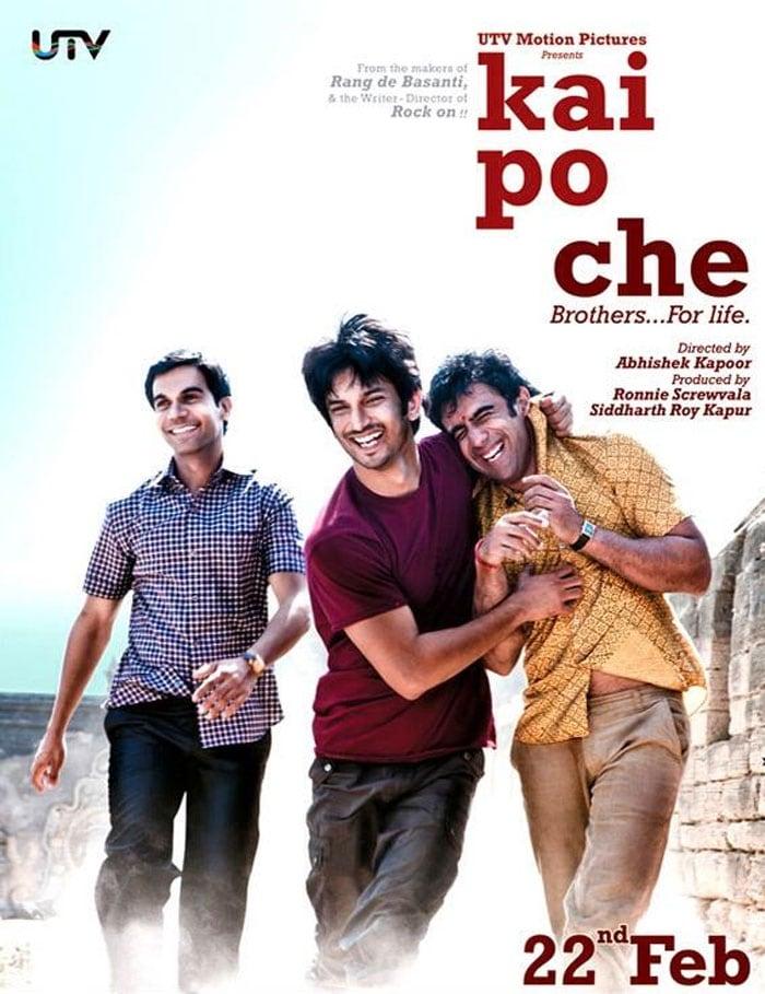 Sushant, Raj, Amit make the cut with Kai Po Che