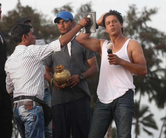 Ready for your close-up, SRK?