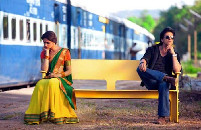 Lovers\' tiff, SRK and Deepika?