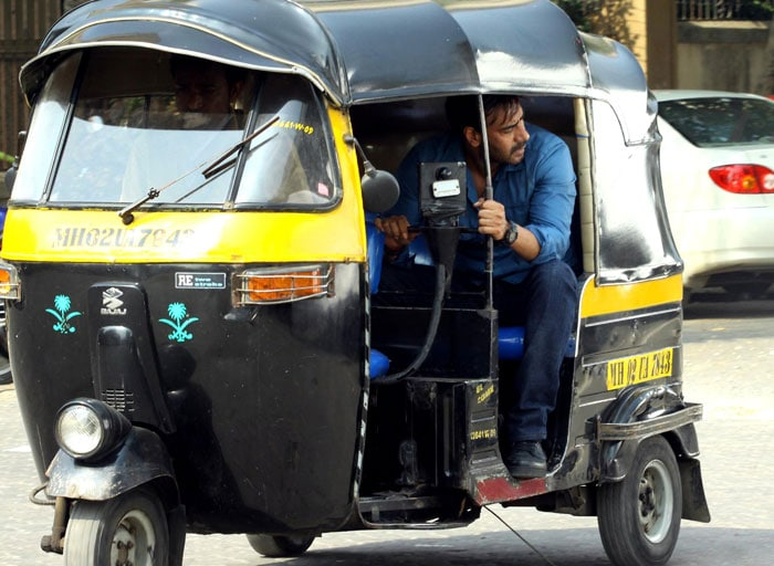 Ajay Devgn in Action Jackson mode