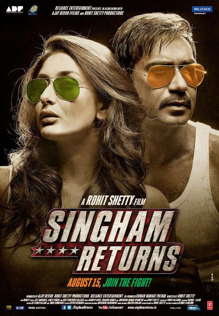 Ajay, Kareena Roar in Singham Returns