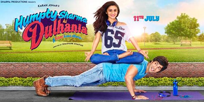Humpty Sharma and his Dulhania Try Modern Workout