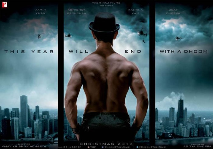 Aamir\'s \'back\' with a triple Dhoom!