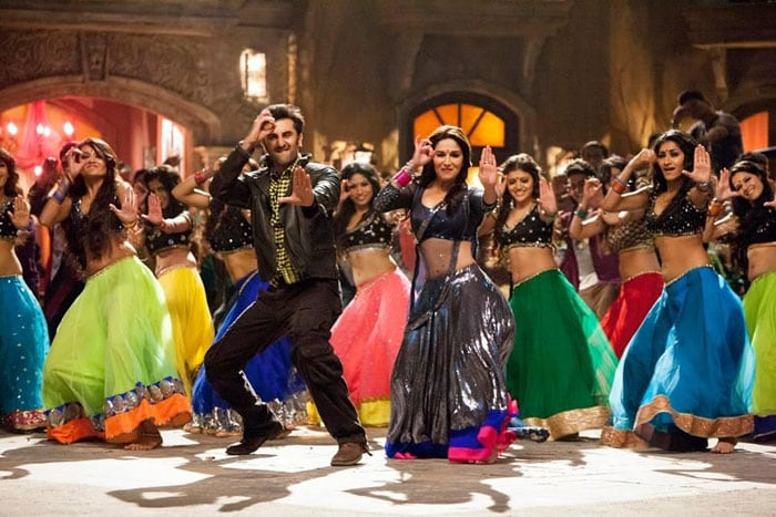 In Ghagra, Ranbir is bowled over by Madhuri