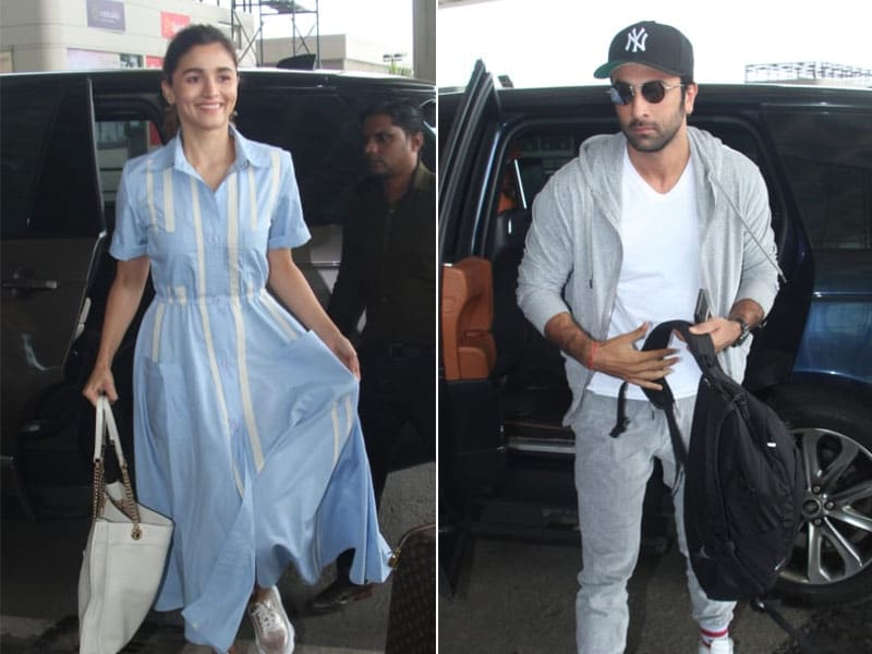 Alia Bhatt, Ranbir Kapoor Fly Out In Search Of Brahmastra