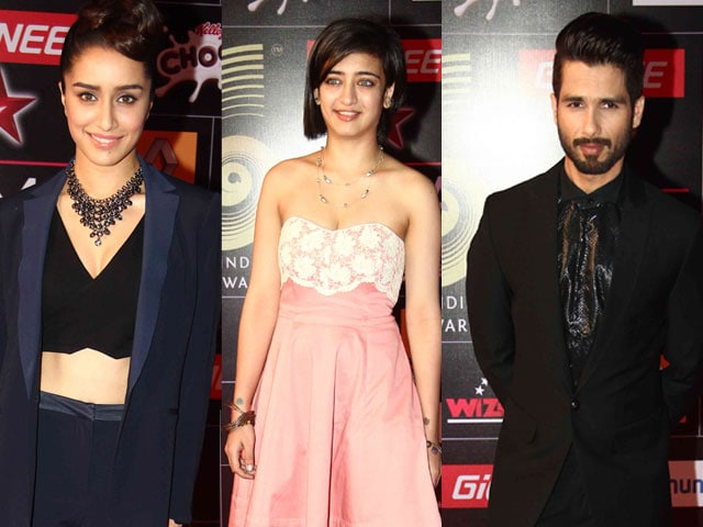 Red Carpet Essentials: Shraddha, Akshara, Shahid