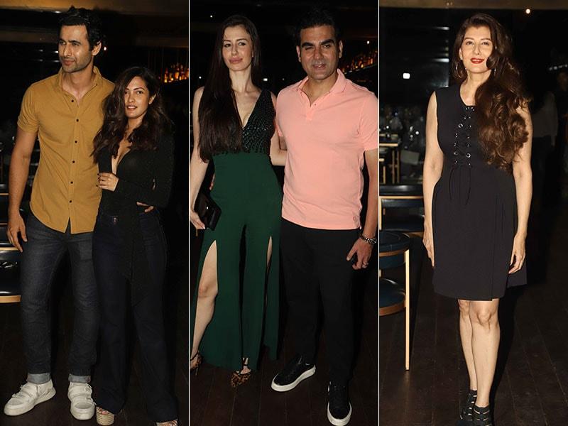 Arbaaz Khan, Giorgia Andriani, Sangeeta Bijlani, Ria Sen At Freddy Daruwala's Birthday Bash