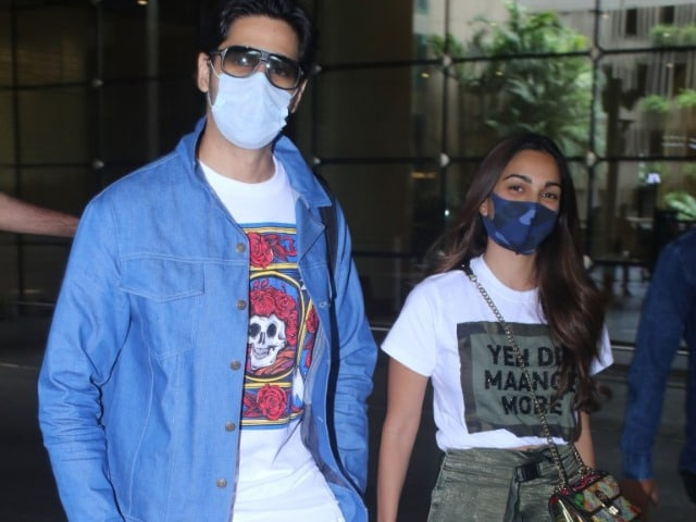 Photo : From Kiara And Sidharth's Airport Diaries