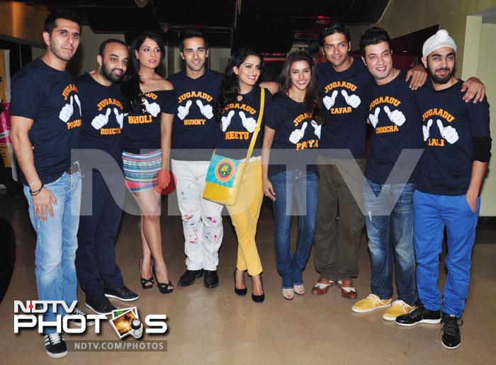 Farhan, Richa and their Fukrey gang
