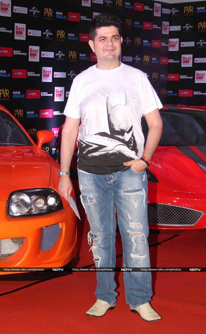 Ferrari and Furious Fashion, Courtesy Shilpa, Nimrat, Shamita