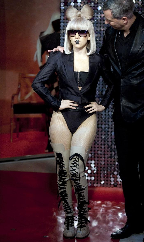 Lady Gaga in Wax, 8 Times