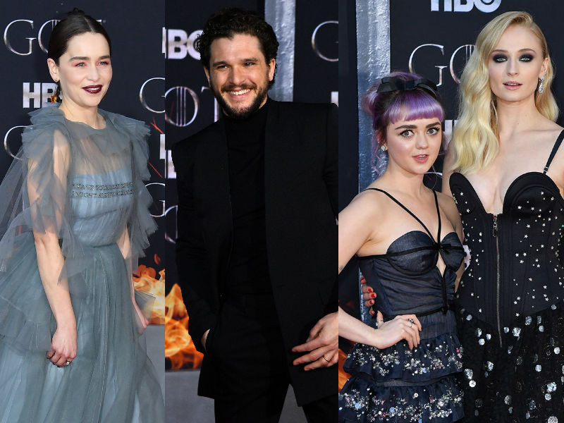 Inside GOT 8 Premiere With Emilia, Kit, Sophie, Maisie And Others