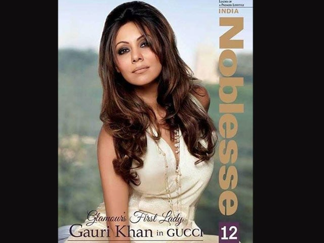 Gauri Khan has glamour covered