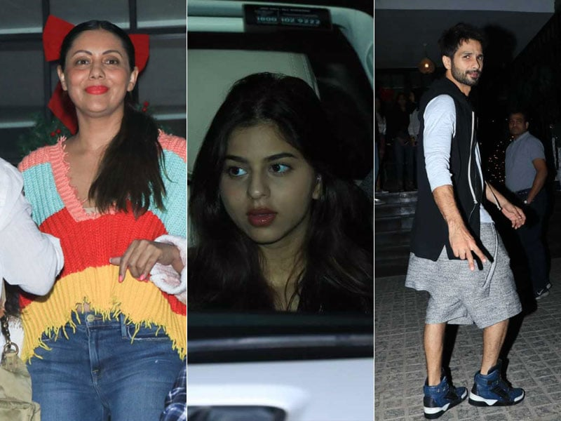 Maximum City, Maximum Stars: Gauri Khan, Suhana, Shahid Kapoor