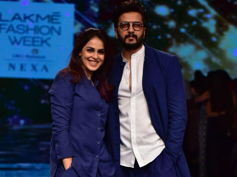 Lakme Fashion Week: Genelia D'Souza And Riteish Deshmukh's Swag Was Off The Charts