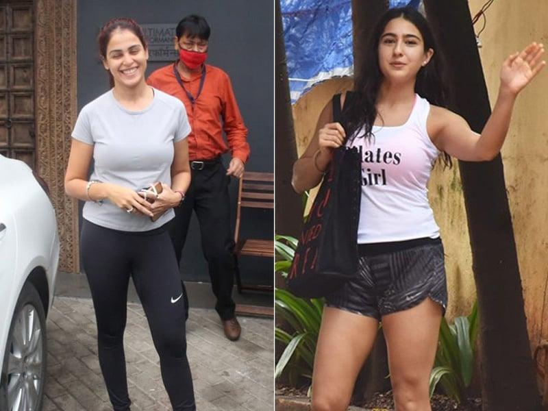 Photo : How Genelia D'Souza And Sara Ali Khan Keep Fit