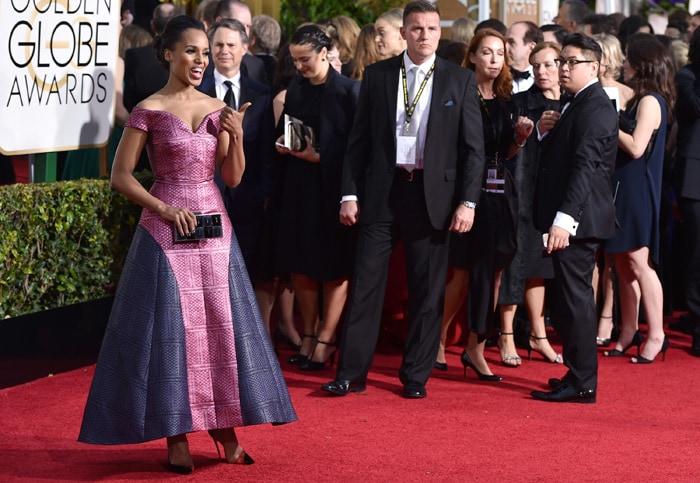 Golden Globes Red Carpet: Celebrity Roll Call