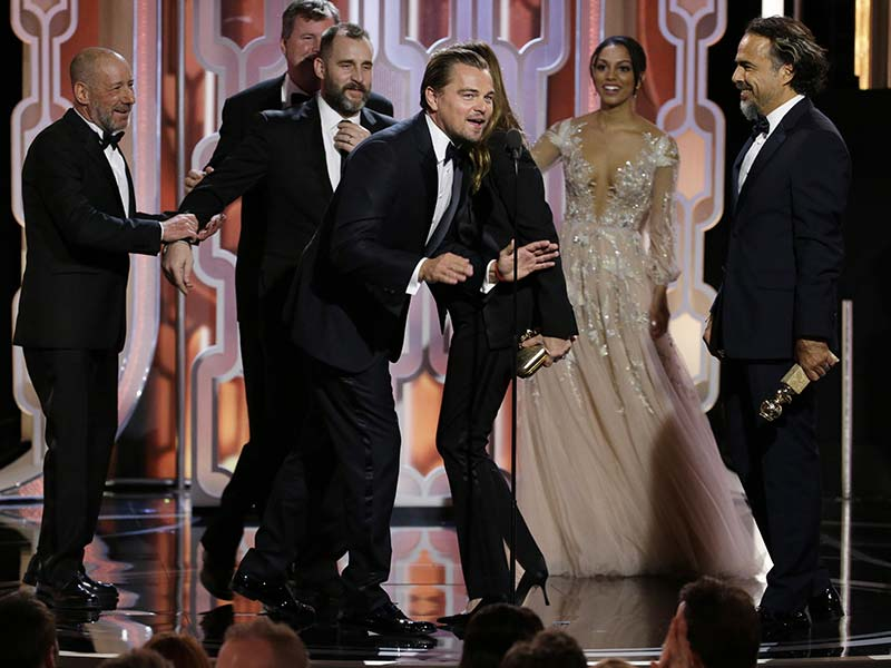 Photo : Golden Globes 2016: Winners