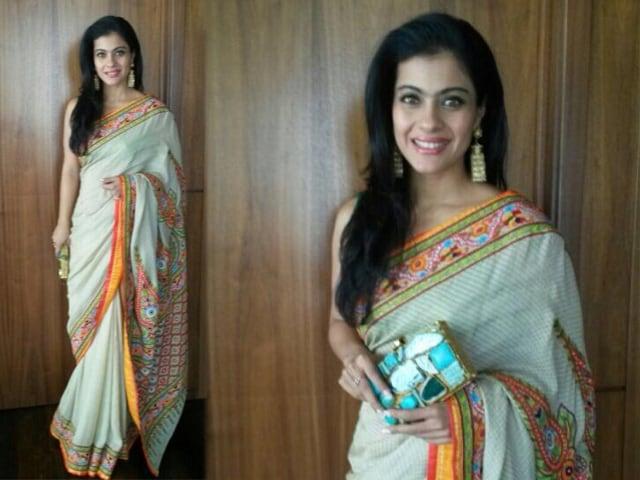 Kajol's Stunning Sari Style