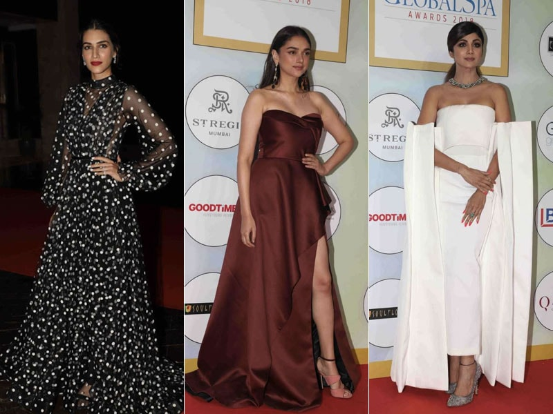 Kriti Sanon, Aditi Rao Hydari And Shilpa Shetty's Fashion A-Game