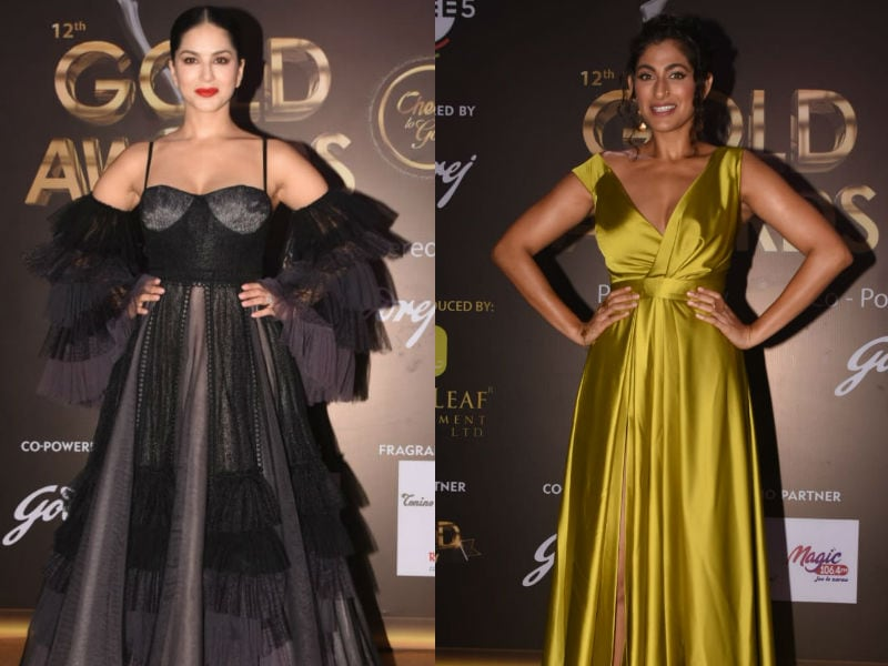 Photo : Gold Awards 2019: Sunny Leone, Kubbra Sait, Others Bring Their Fashion A-Game