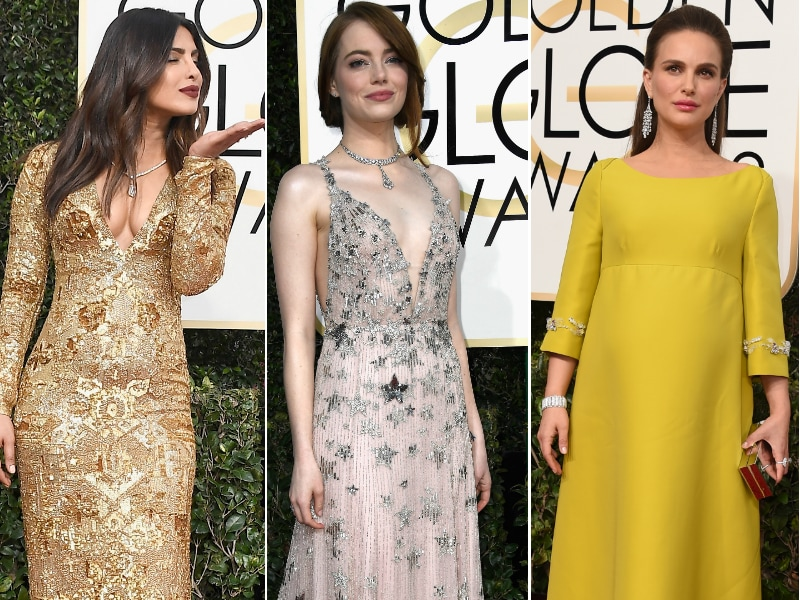 Golden Globes Fashion: 10 Best Dressed Stars