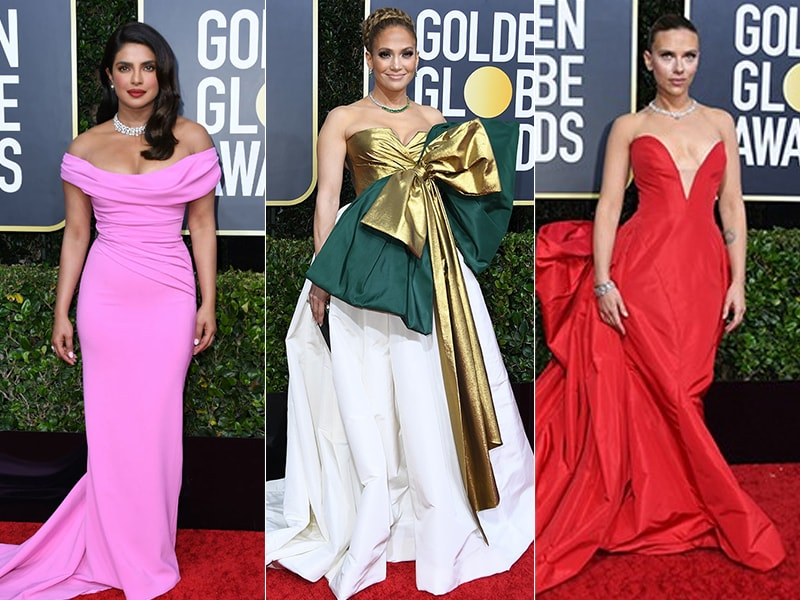 Golden Globes 2020: Priyanka Chopra, Jennifer Lopez And Scarlett Johansson Dazzle On The Red Carpet