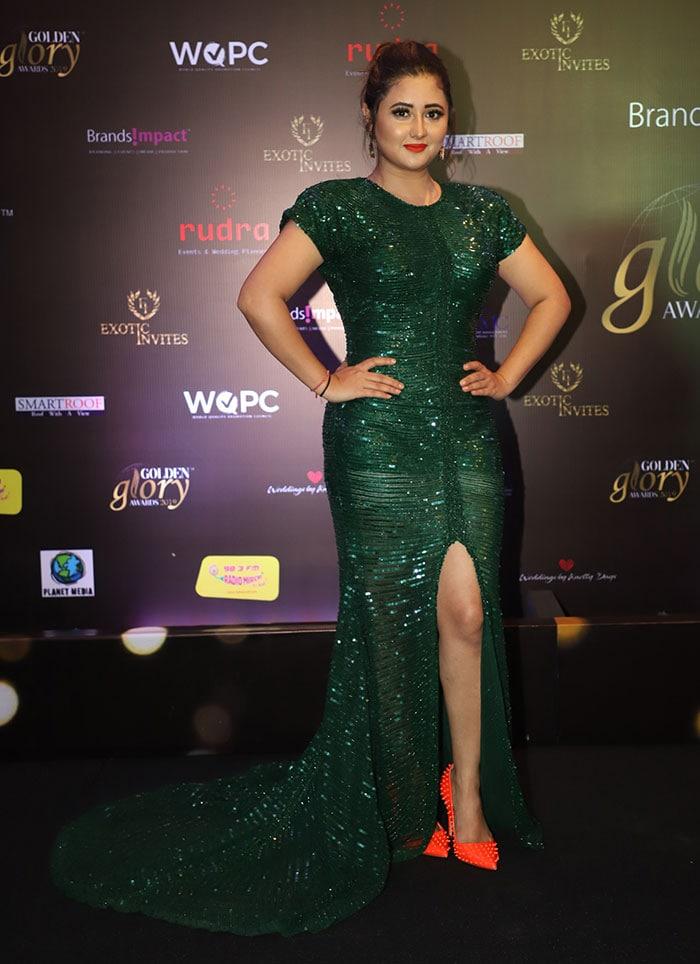 Preity Zinta And Rashami Desai Raise The Style Quotient At Golden Glory Awards