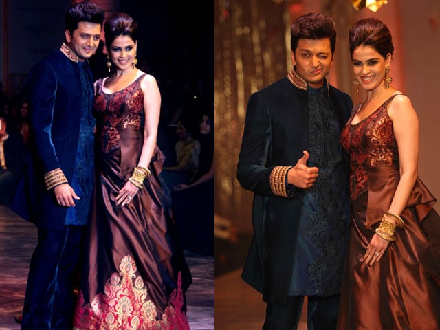 Ritesh, Genelia's wedding bliss