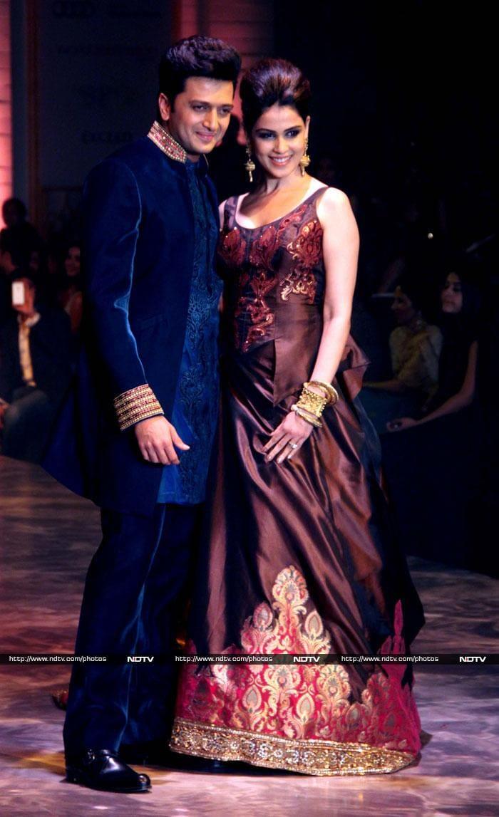 Ritesh, Genelia\'s wedding bliss