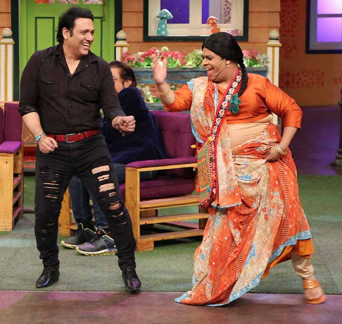 कपिल शर्मा के शो पर हंसी का ओवरडोज लेकर पहुंचे गोविंदा