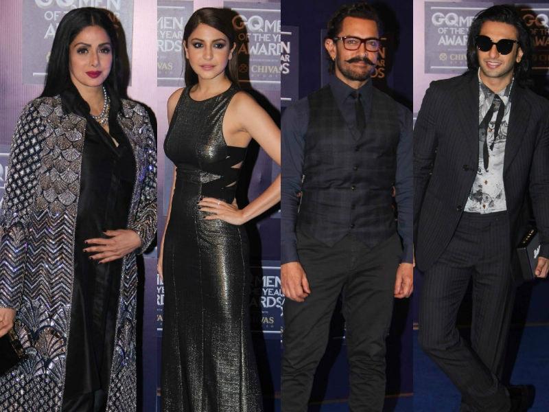 Sridevi, Anushka, Aamir, Ranveer At Their Stylish Best