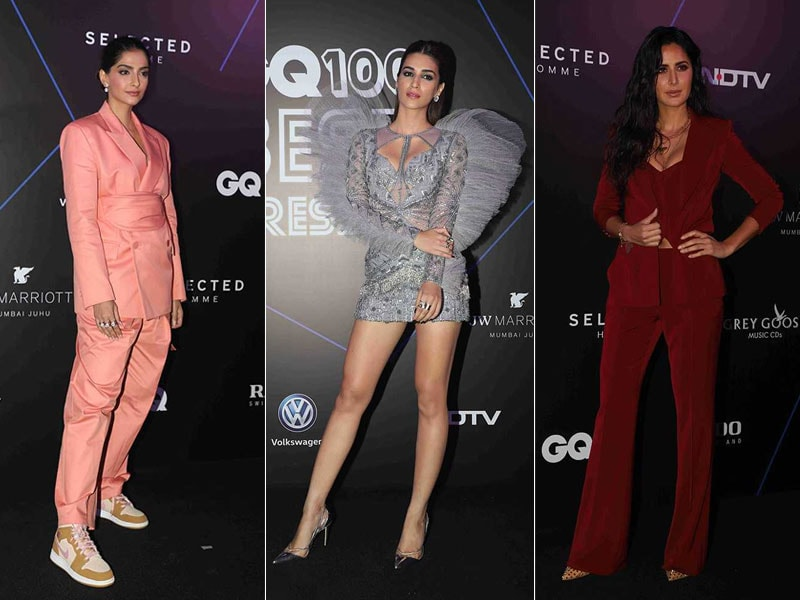 Sonam Kapoor, Katrina Kaif And Kriti Sanon Raise The Style Quotient At GQ Awards