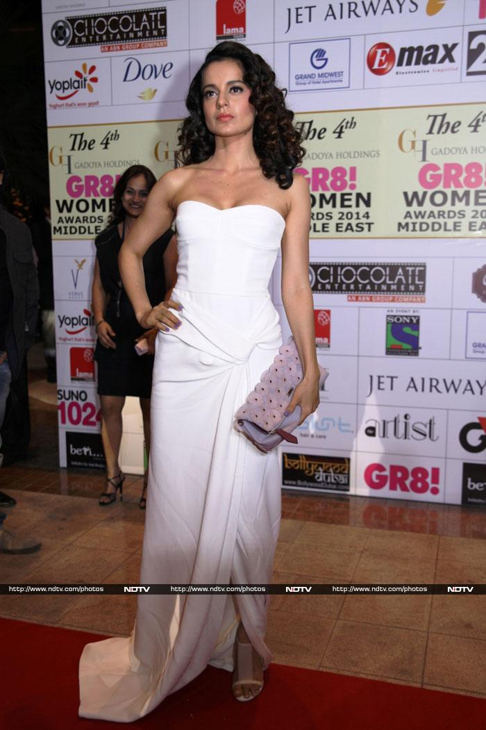 TV celebs at the 4th GR8! Women Awards
