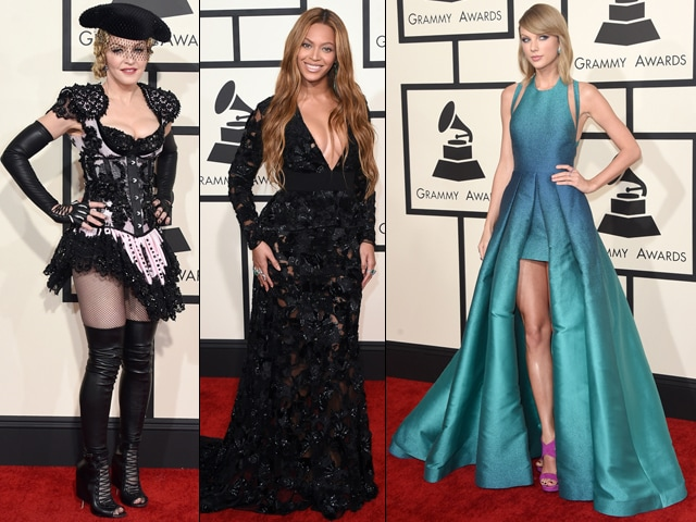 Grammys 2015: Beyonce, Madonna, Taylor on the Red Carpet