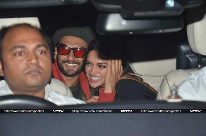 रणवीर-दीपिका, आलिया-रणबीर ने देखी 'गली बॉय'