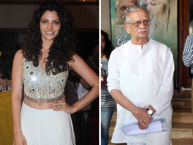 A Night Of Poetry With Mirzya's Saiyami Kher, Gulzar