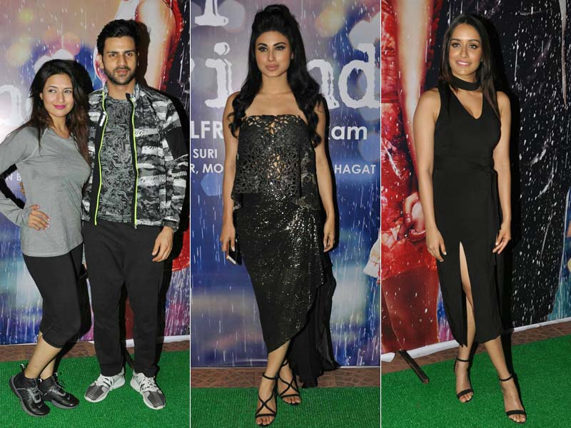 A Party To Remember With Divyanka, Mouni And Half Girfriend Shraddha
