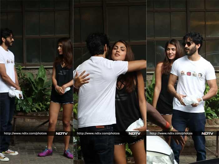 Harshvardhan Kapoor, Rhea Chakraborty Spotted Hanging Out Together