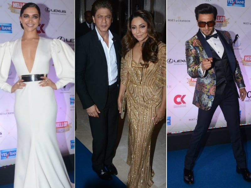 Hello, There! A Night With Deepika-Ranveer, Shah Rukh-Gauri