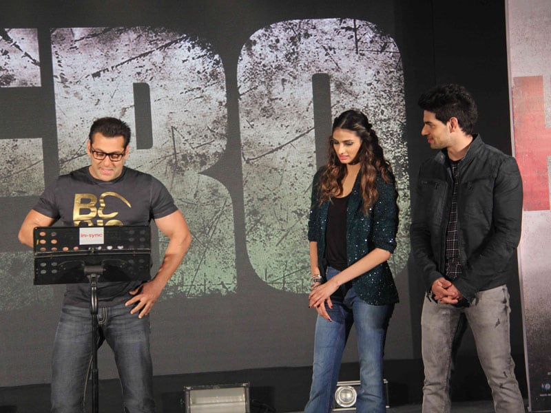 In Which Salman Khan Sings to His Heroes