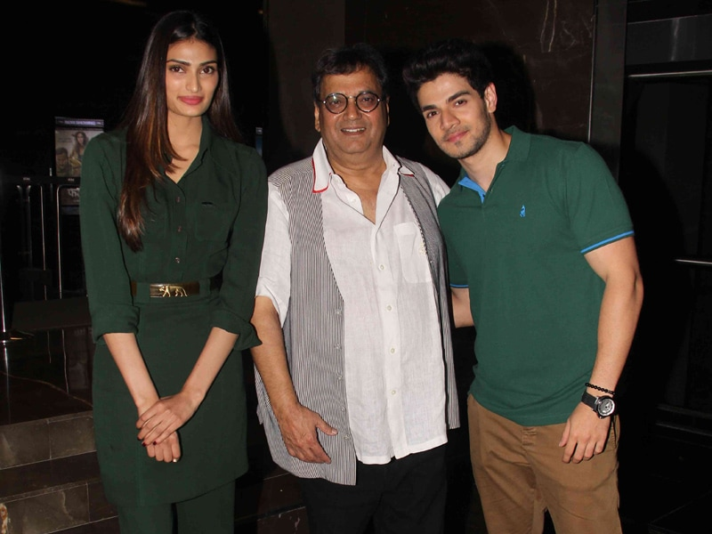 Hero-Spotting in Theatres: Sooraj, Athiya, Tanishaa